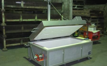 フュージング用電気炉