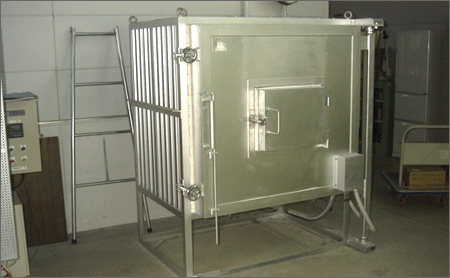 ガラス工芸キルンワーク用電気炉