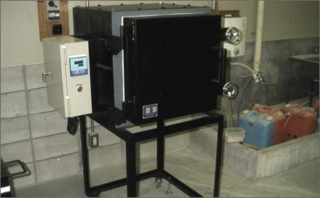 ガラス工芸用小型電気炉