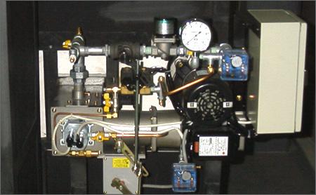 ガラス工芸用溶解炉・制御部分